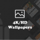 4K/HD Wallpaper Android App (Google Material Design + Admob + Firebase Push Noti + PHP Backend)