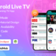 Android Live Tv Streaming | Admob, Facebook, Onesignal