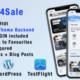 MyCar4Sale – IOS companion app for My Listing Theme: Car Demo. WP Plugins included.