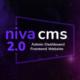 Niva – Multipurpose Website CMS & Business Agency Management System